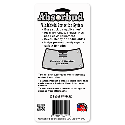 absorbud catalog package back